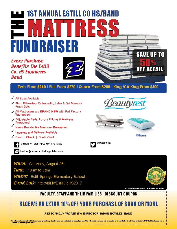 Band Fundraiser Flyer